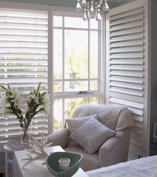 Creative Mood Plantations Blinds Timber Plantation Shutters White